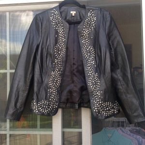Reba leather jacket size S
